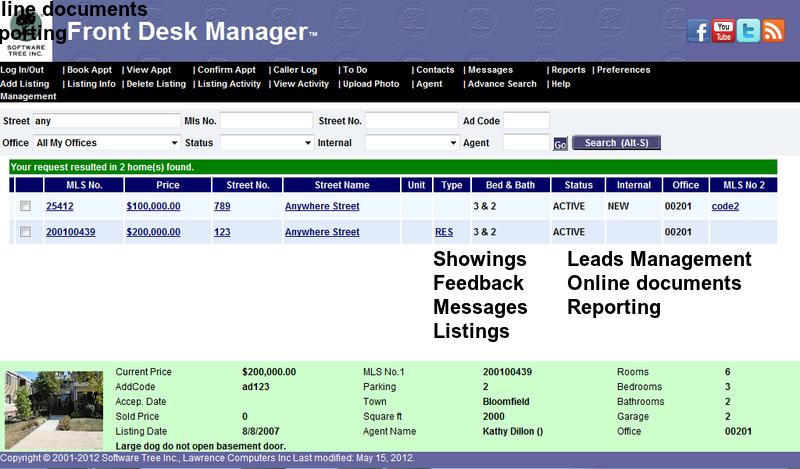 Real estate broker accounting software